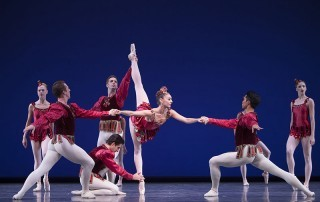 George Balanchine's masterful homage to ballet, Jewels celebrates its 50th anniversary adorned with new costume and scenic designs created for Pacific Northwest Ballet by Jerome Kaplan.