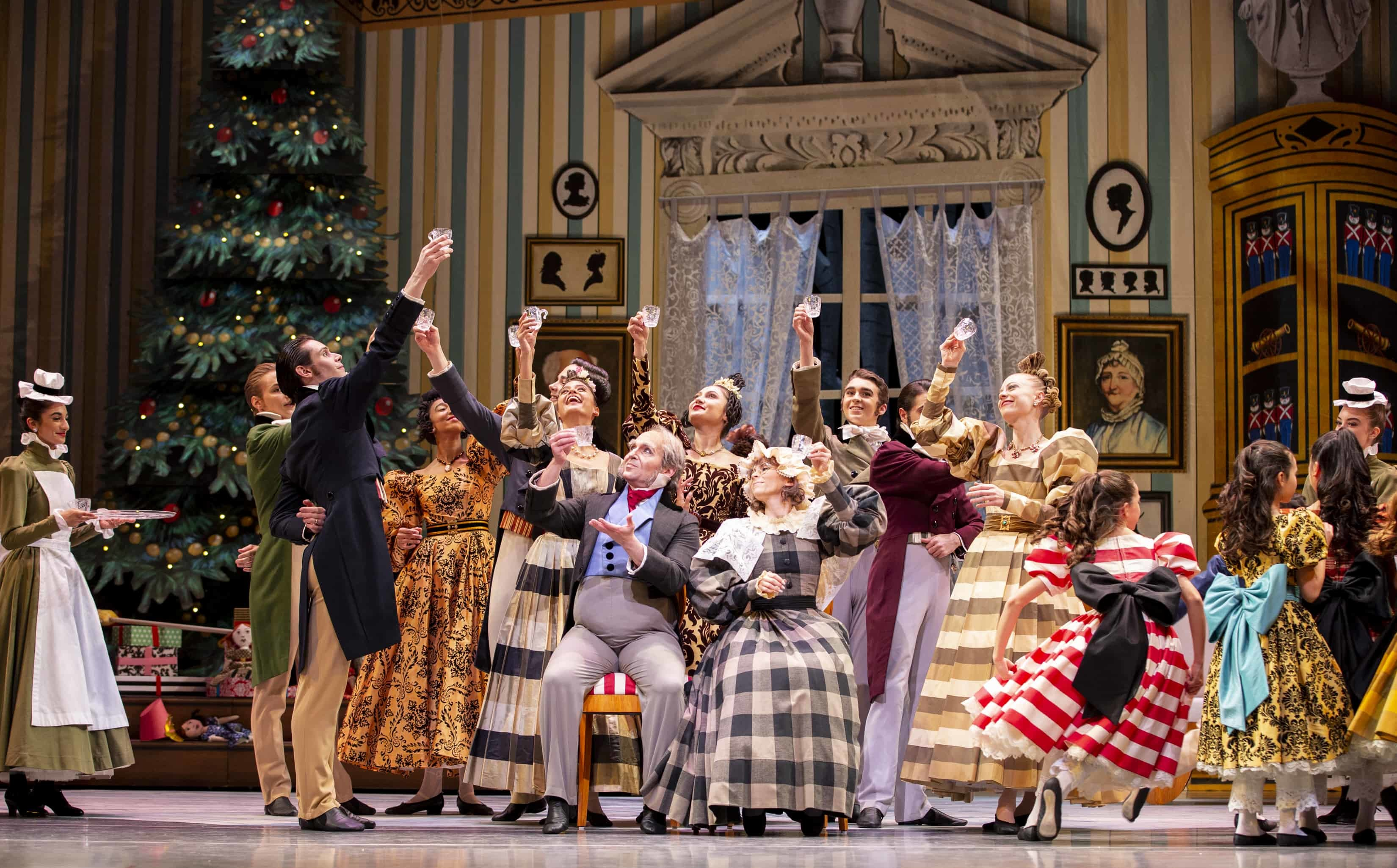 Party scene. George Balanchine's The Nutcracker®, choreography by George Balanchine © The George Balanchine Trust. Photo © Angela Sterling.
