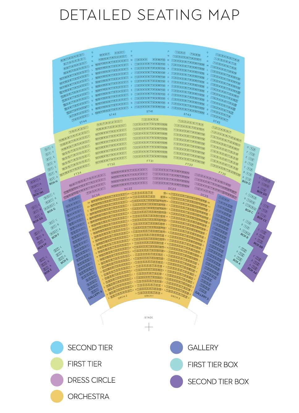 Mccaw Hall Seating Chart View