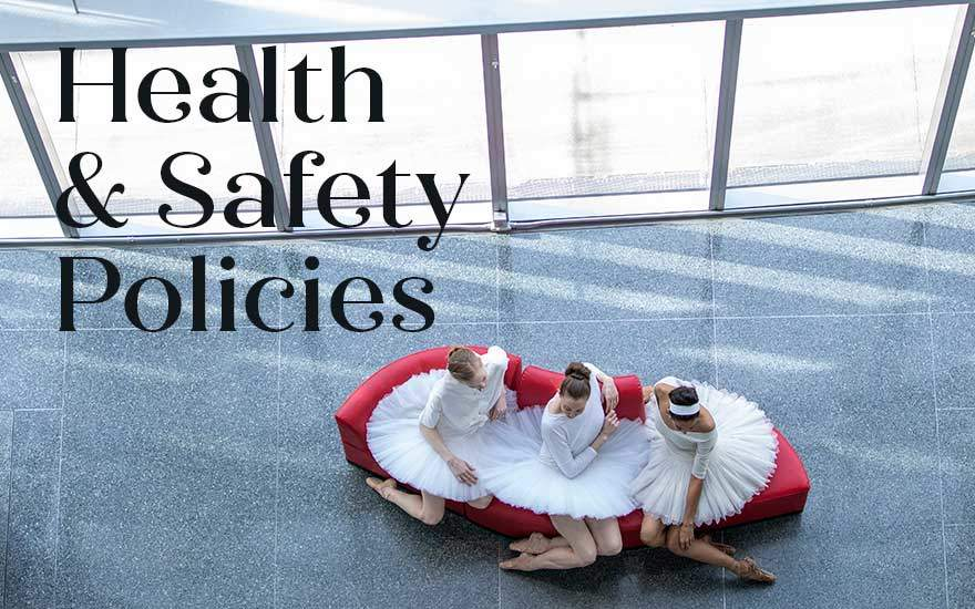 Click on this image to read our health and safety policies.
