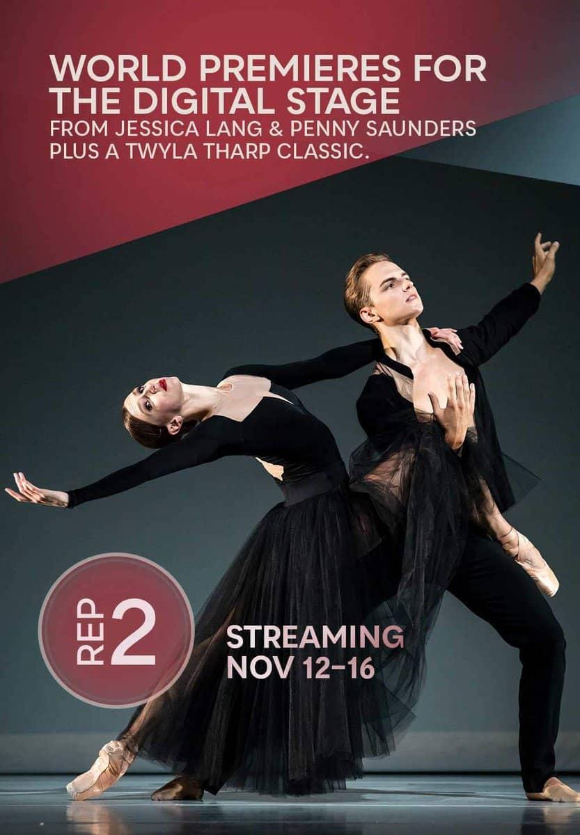 Rep 2, November 2020: James Moore dancing in Twyla Tharp's Waterbaby Bagatelles